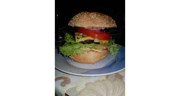 Házi hamburger