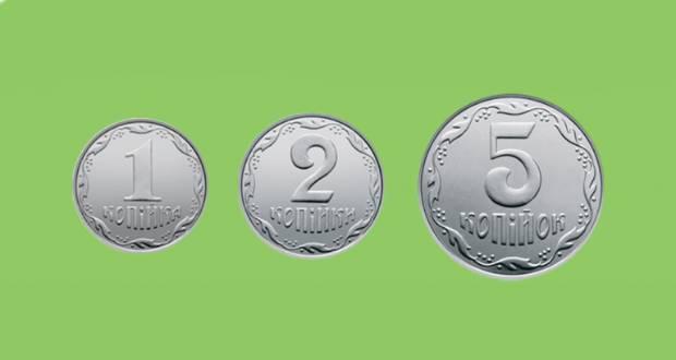 Bevonták az 1, 2 és 5 kopijkás érméket