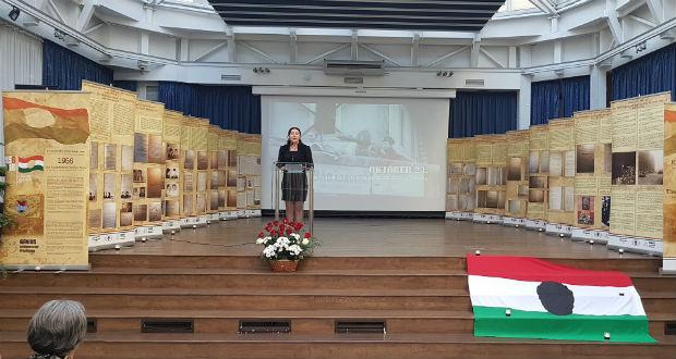 Emlékünnepség az 1956-os forradalom tiszteletére