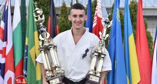 Munkácsi sportoló nyerte a kyokushin karate-világkupát