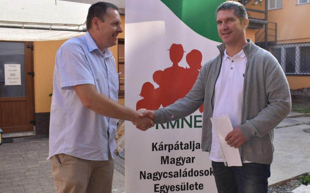 Új elnököt választott a Kárpátaljai Magyar Nagycsaládosok Egyesülete