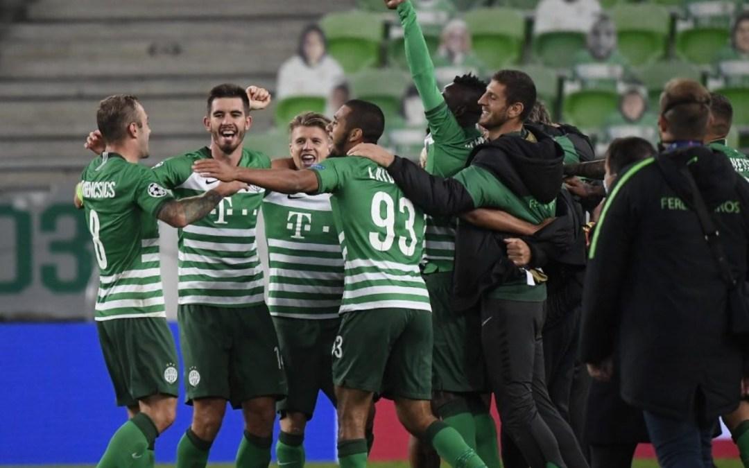 Huszonöt év után BL-csoportkörös a Ferencváros