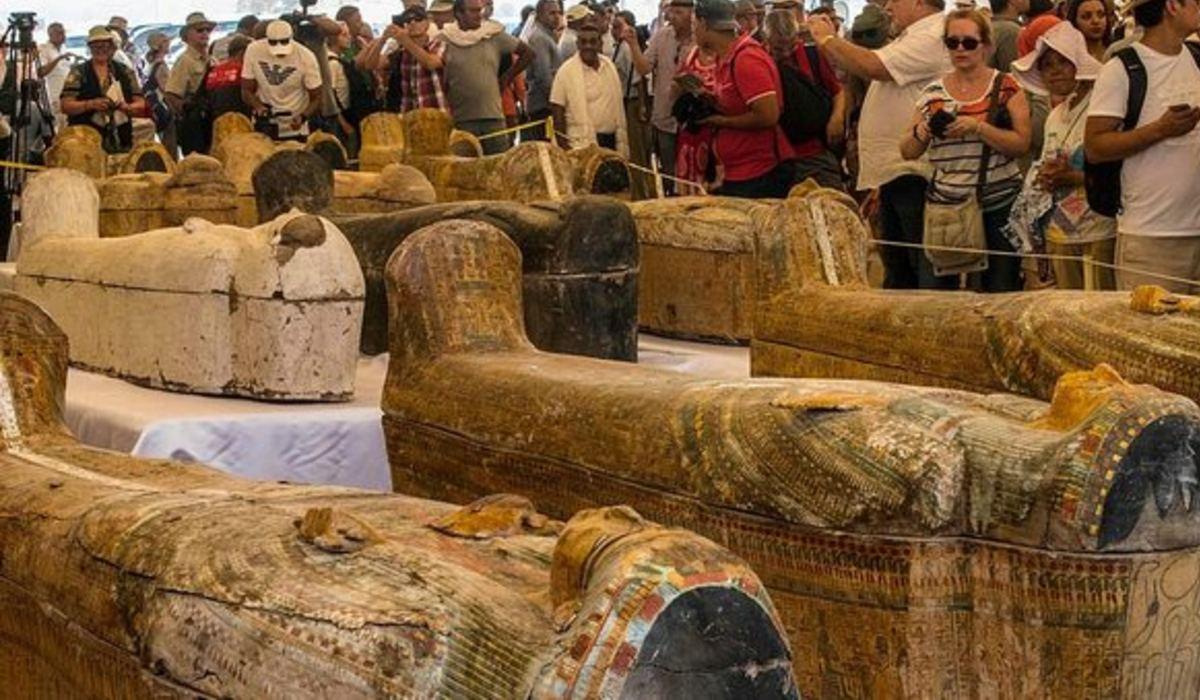 egyiptomi szarkofágok