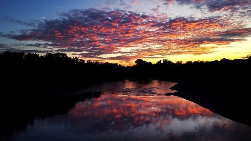 Határvonal. Makó András fotója. Nap képe.