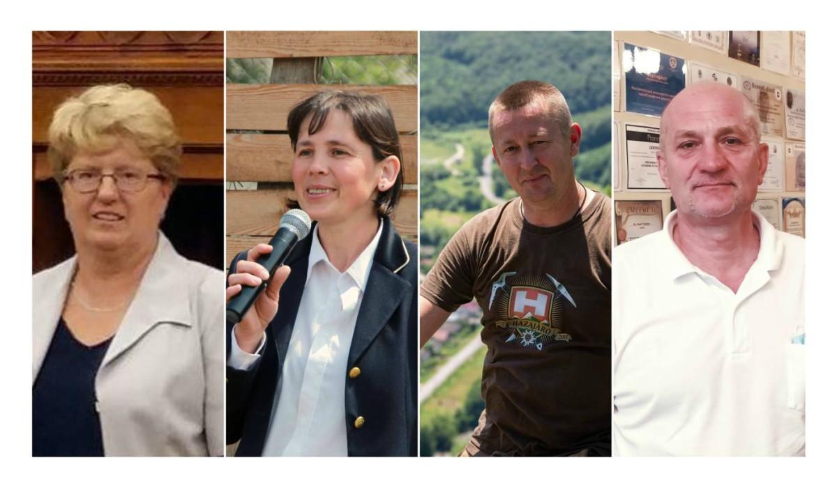 Jakab Eleonóra, Margitics Ildikó, Bíró András és Pauk Volodimir