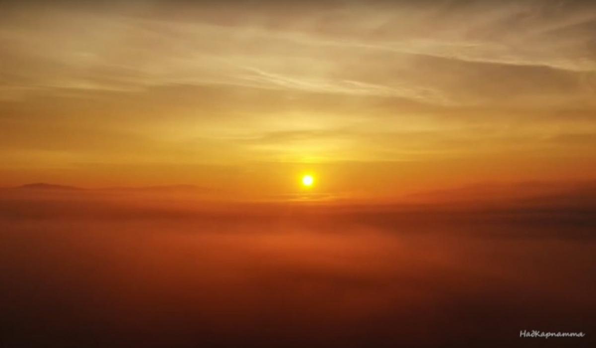 naplemente Kárpátalja