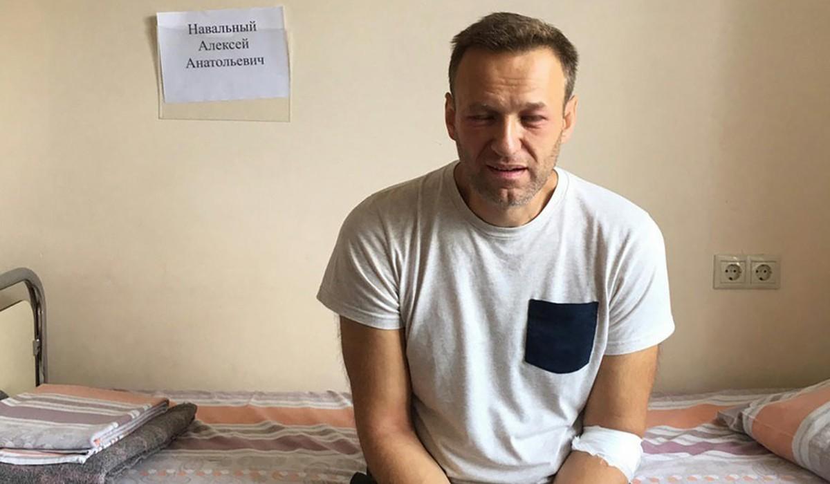 Navalnij, kórház