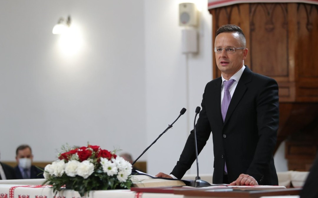 Péter Szijjártó's speech at the opening ceremony of the new academic year at the Rákóczi Institute