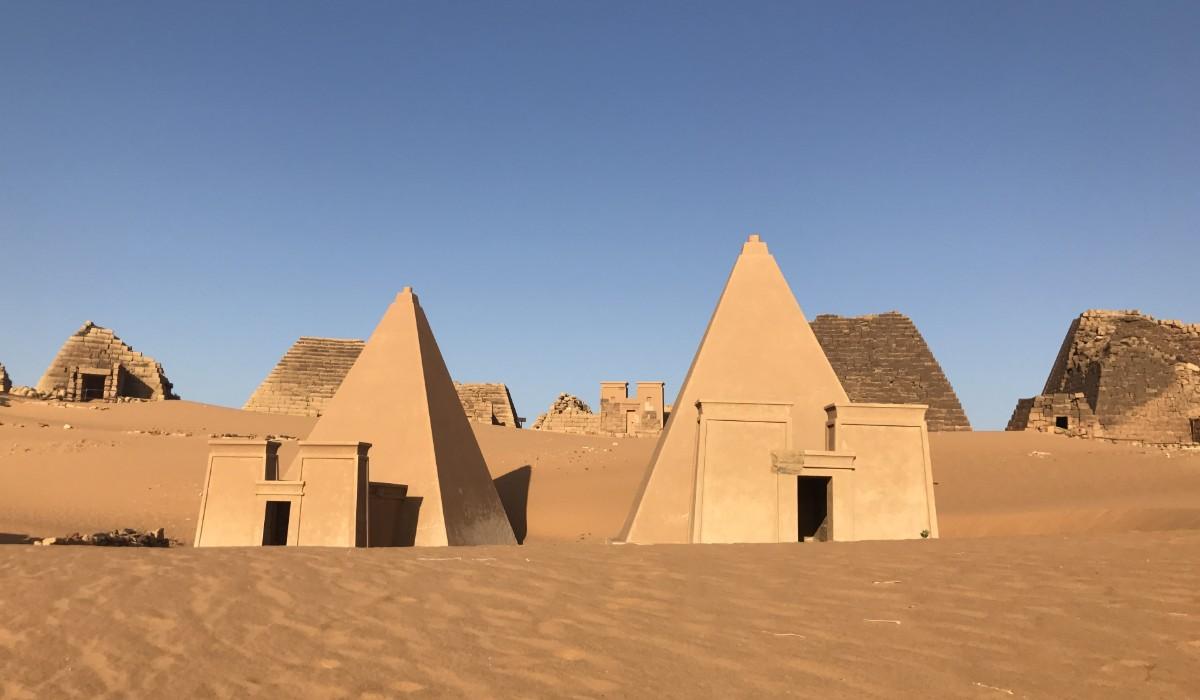 piramisok Szudánban