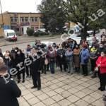 Vállalkozók tüntetnek Perecsenyben