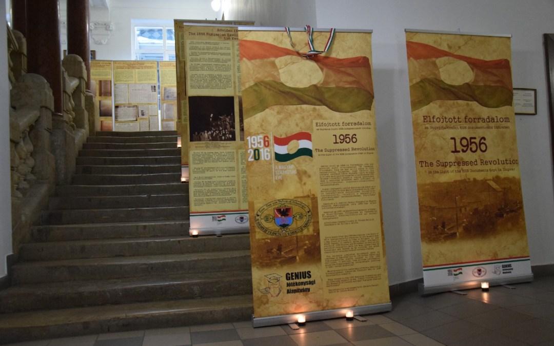 Elfojtott történelem – '56-os kiállítás nyílt a Rákóczi-főiskolán