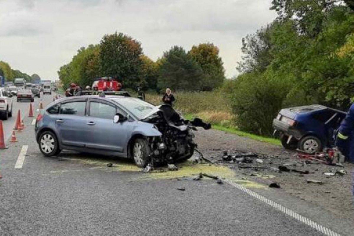 baleset Kijev-Csap autóút