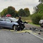 Baleset a Kijev–Csap autóúton: négy autó ütközött, hárman meghaltak