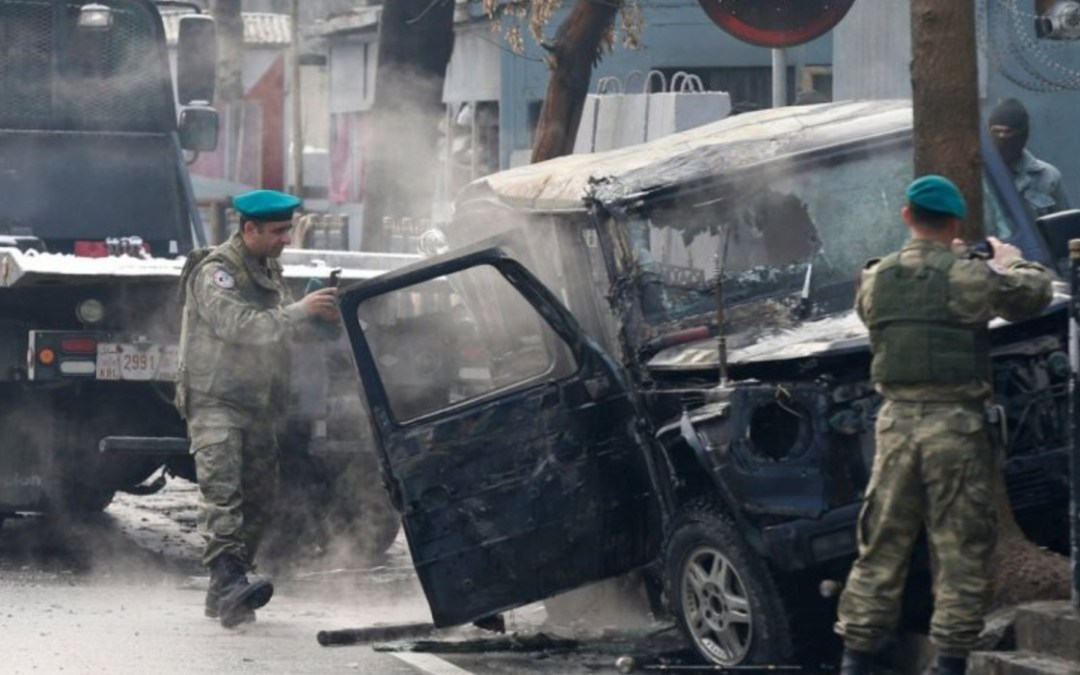 Öngyilkos merénylő pusztított Kabulban