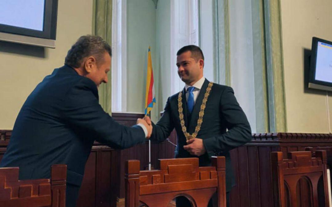 Letette esküjét Munkács polgármestere