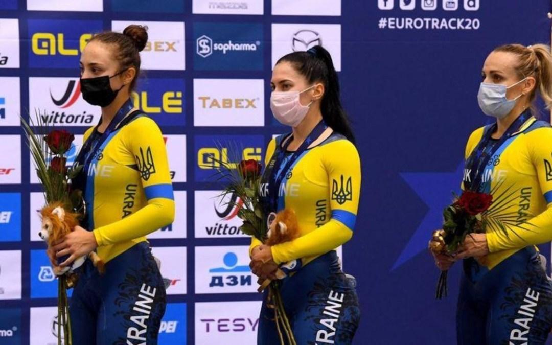 Kerékpáros Európa-bajnokság: érmet szereztek az ukrán versenyzők