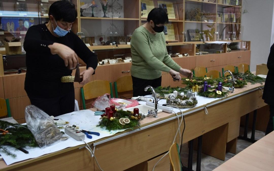 V. Adventi virágkötészeti szakmai nap a Rákóczi-főiskolán