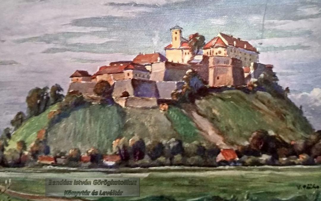 Kárpátalja anno: a munkácsi vár egy cseh festő ecsetével