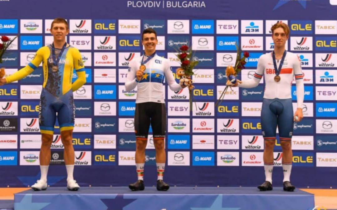 Ukrán ezüst- és bronzérem a plovdivi pályakerékpáros Európa-bajnokság