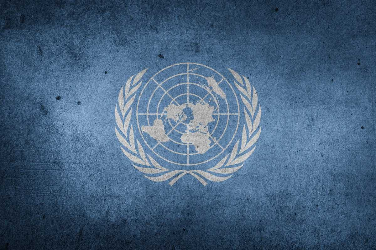 ENSZ zászló