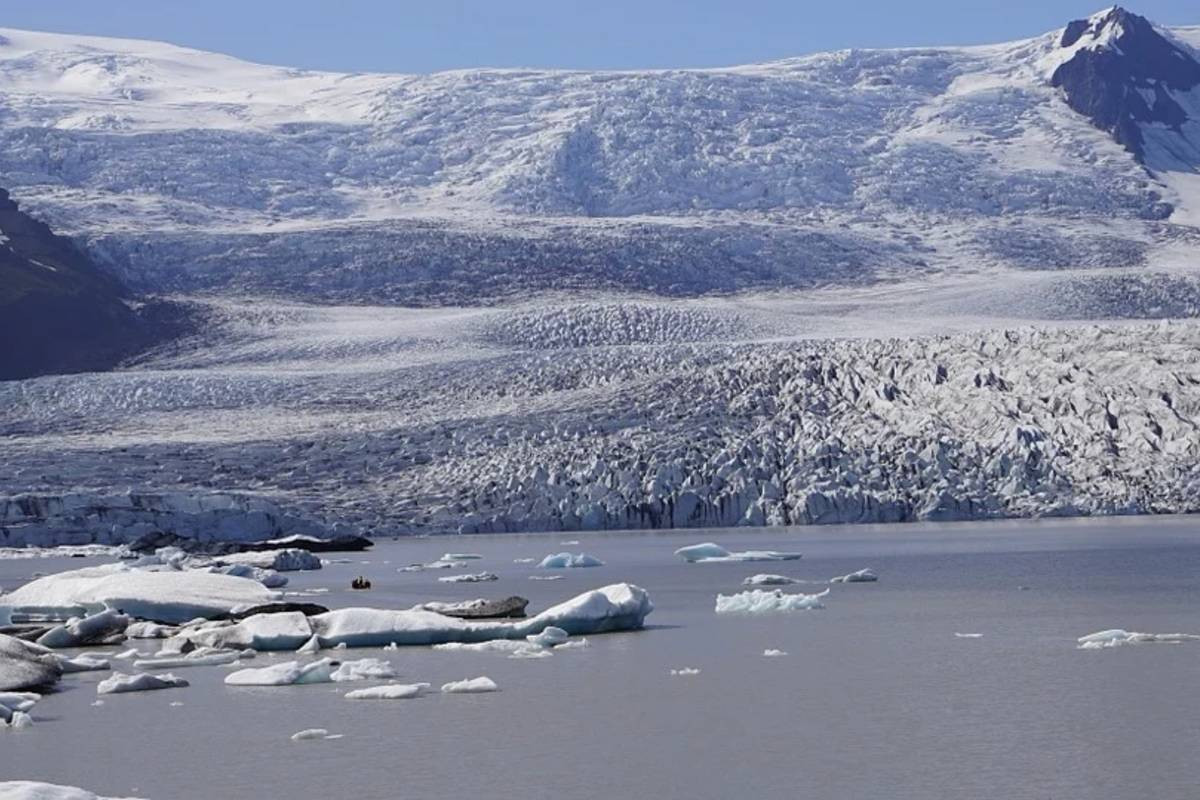 grönlandi gleccser