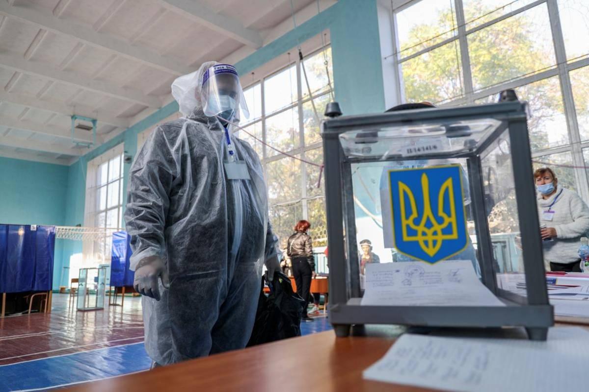 helyhatósági választások Ukrajna