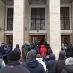 Ismét tüntetnek a magas közüzemi díjak ellen Ungváron