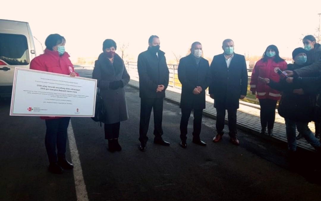 Magyarország veszettség elleni oltóanyagot adományozott Ukrajnának