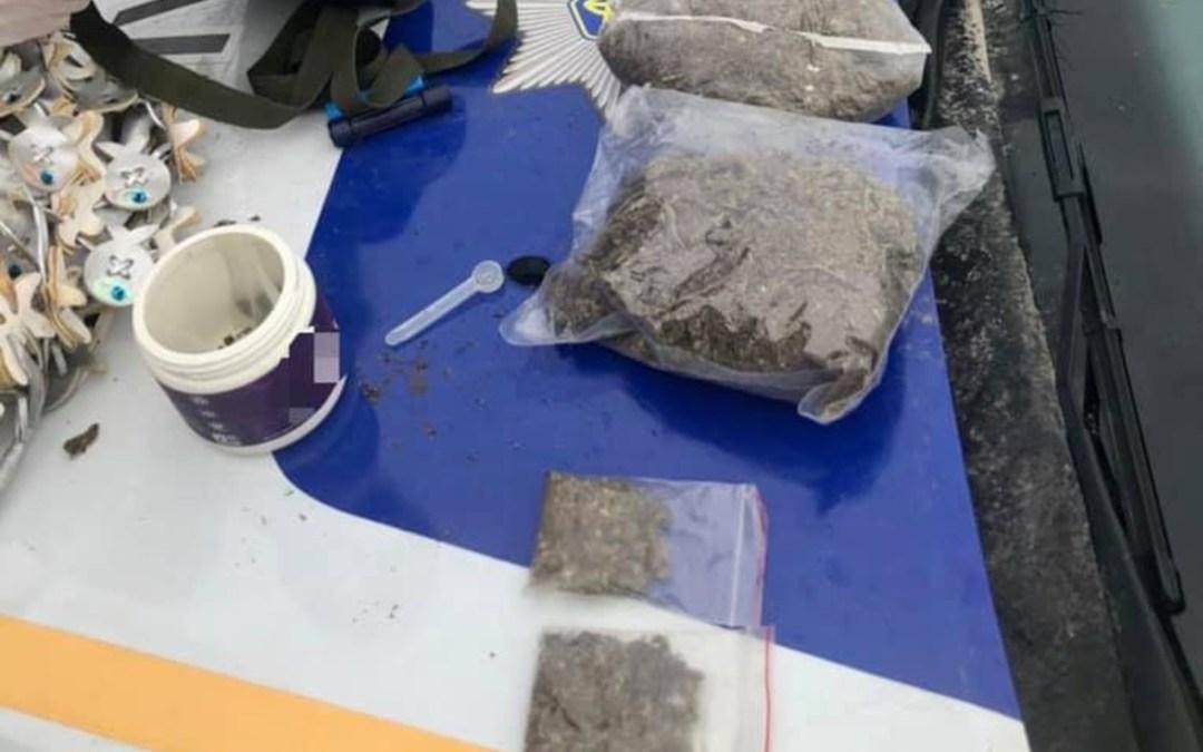 Kábítószert találtak egy nőnél Szürtében