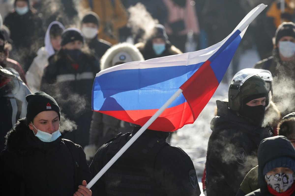 Oroszország tüntetés