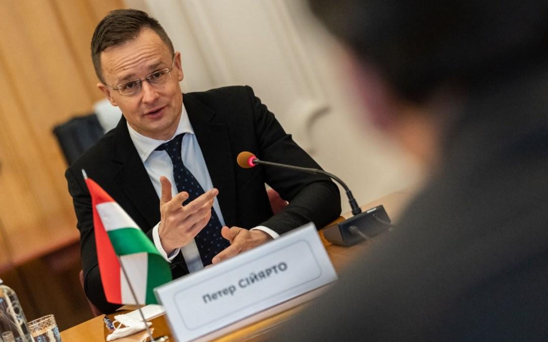 Szijjártó Péter: csúfos kudarccal végződött Ukrajna magyar energiabeszerzést érintő hazug kommunikációs kampánya