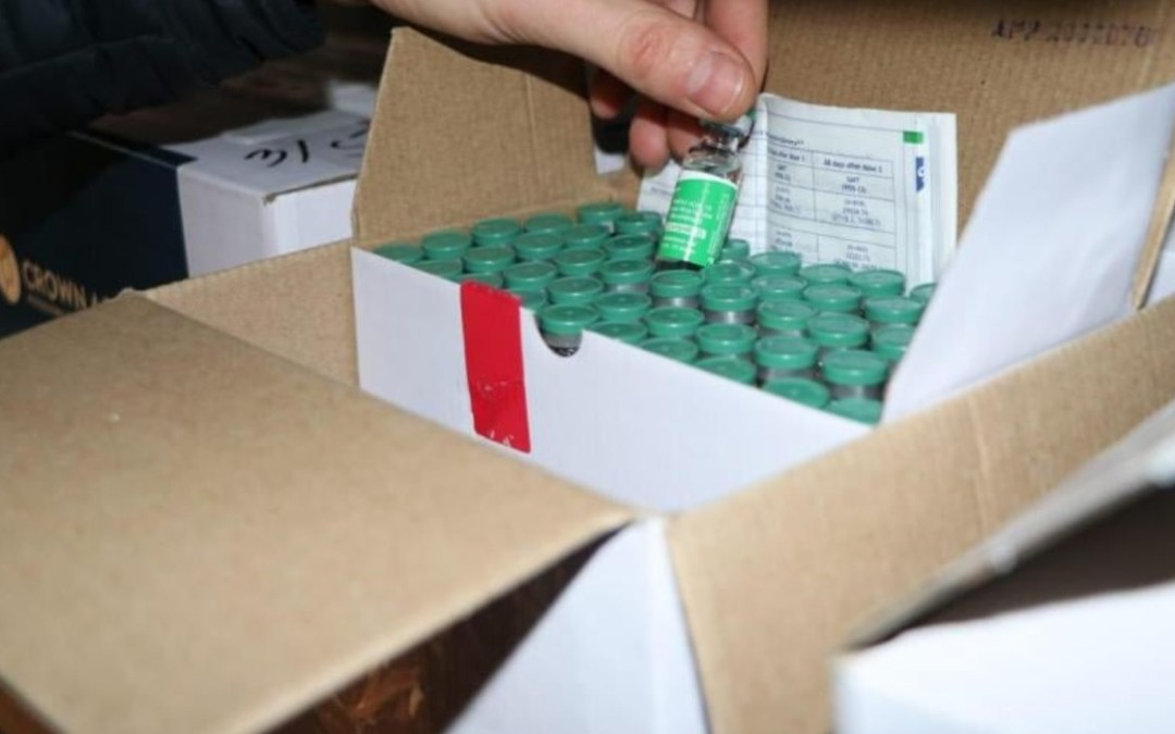 The first vaccine consignment has arrived to Transcarpathia
