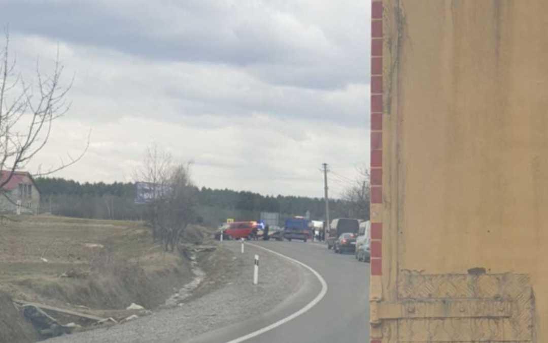 Baleset történt a Munkács–Rohatin autóúton
