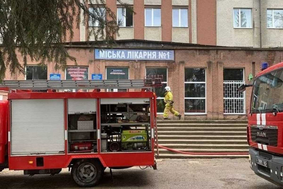 Csernyivci kórház robbanás