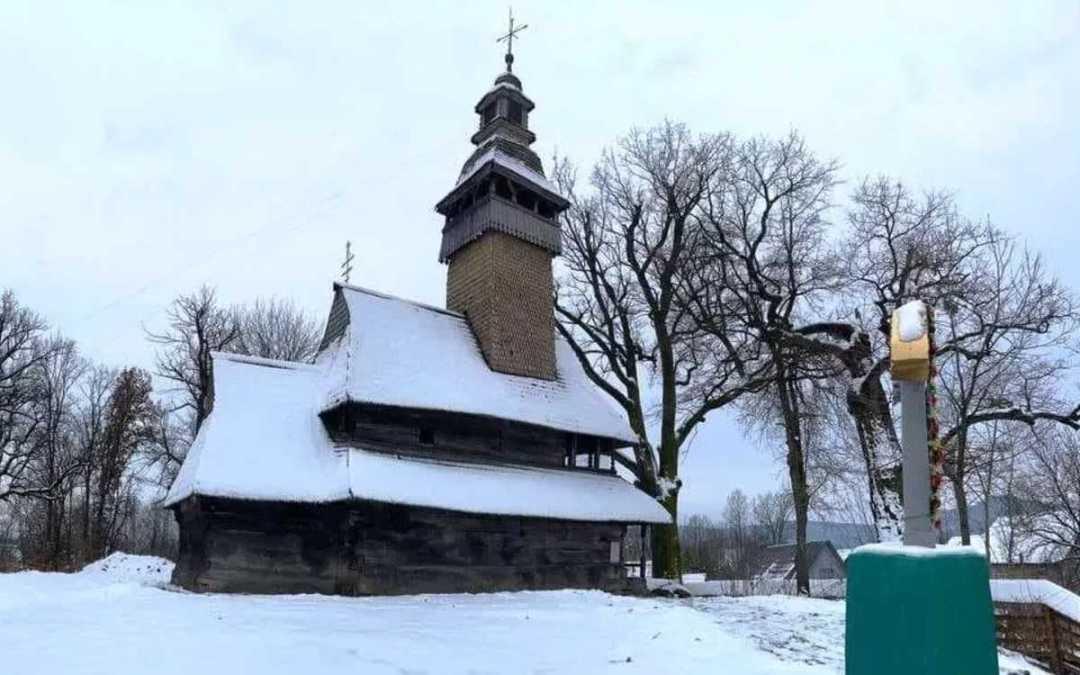Kárpátalja ma: múzeummá alakítják a darvai görögkatolikus fatemplomot