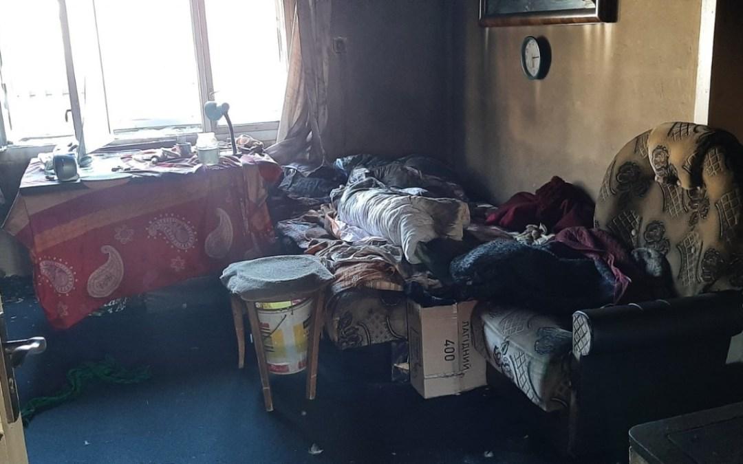 Halálos tűzeset a Rahói járásban