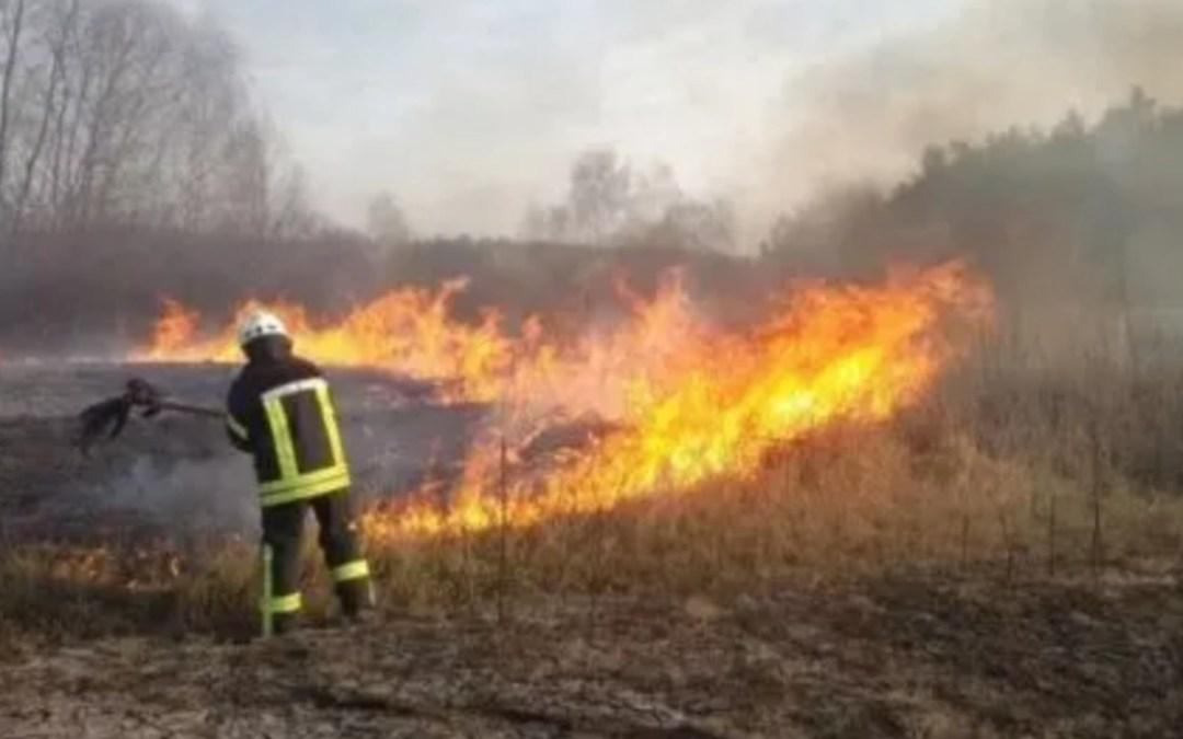 34 tűzesetet regisztráltak a hétvégén Kárpátalján