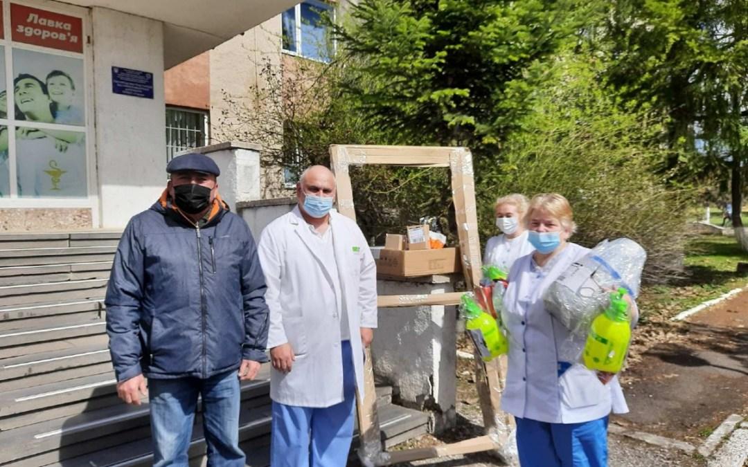 Segítségnyújtás hittel a szerednyei kórháznak