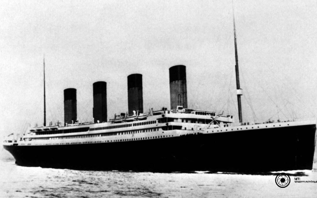 Százkilenc éve süllyedt el a Titanic