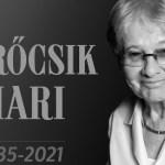 Elhunyt Törőcsik Mari