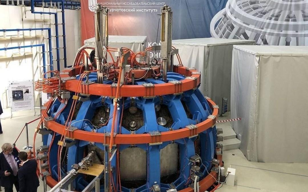 Húsz év után először helyeztek üzembe termonukleáris berendezést Oroszországban