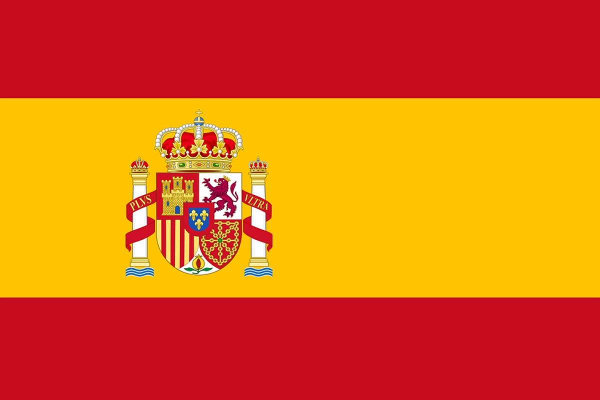 spanyol zászló