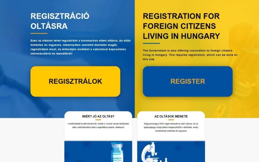 A külhoni magyarok már magyar igazolvánnyal is regisztrálhatnak oltásra