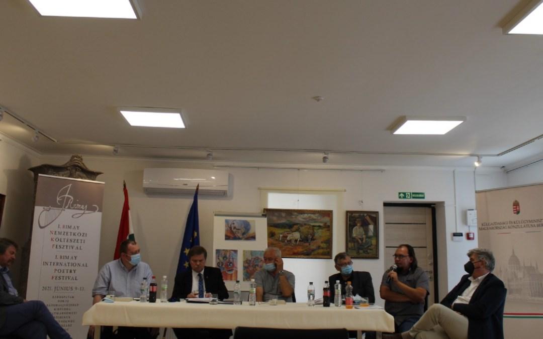 Világ, ideálmodva – Irodalmi kilátó a Rimay Nemzetközi Költészeti Fesztivál keretében