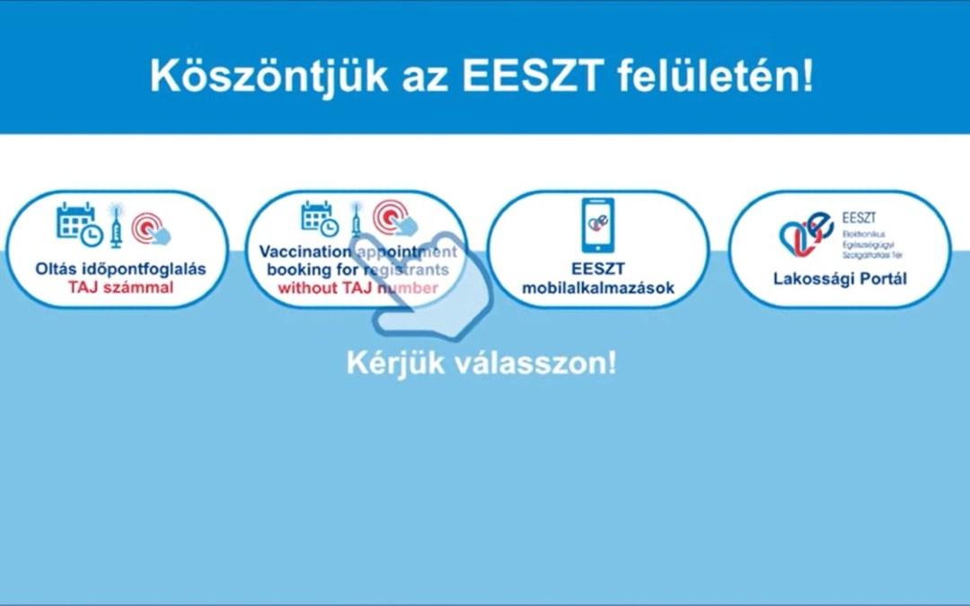 Még mindig nem késő oltásra regisztrálni Magyarországon