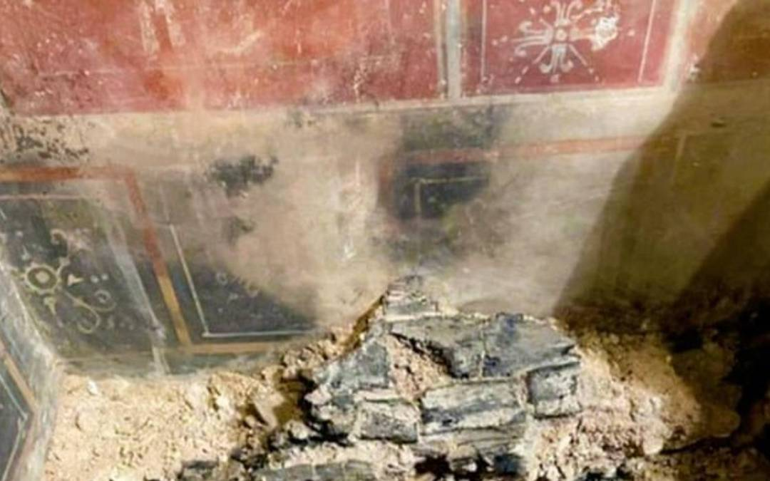 Római kori freskókra bukkantak Veronában
