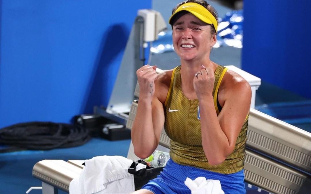 Olimpiai bronzérmet szerzett Jelina Szvitolina teniszező
