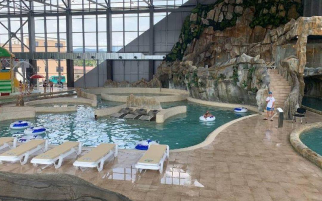 """Megnyitotta kapuit a """"Karpatia"""" Aquapark"""