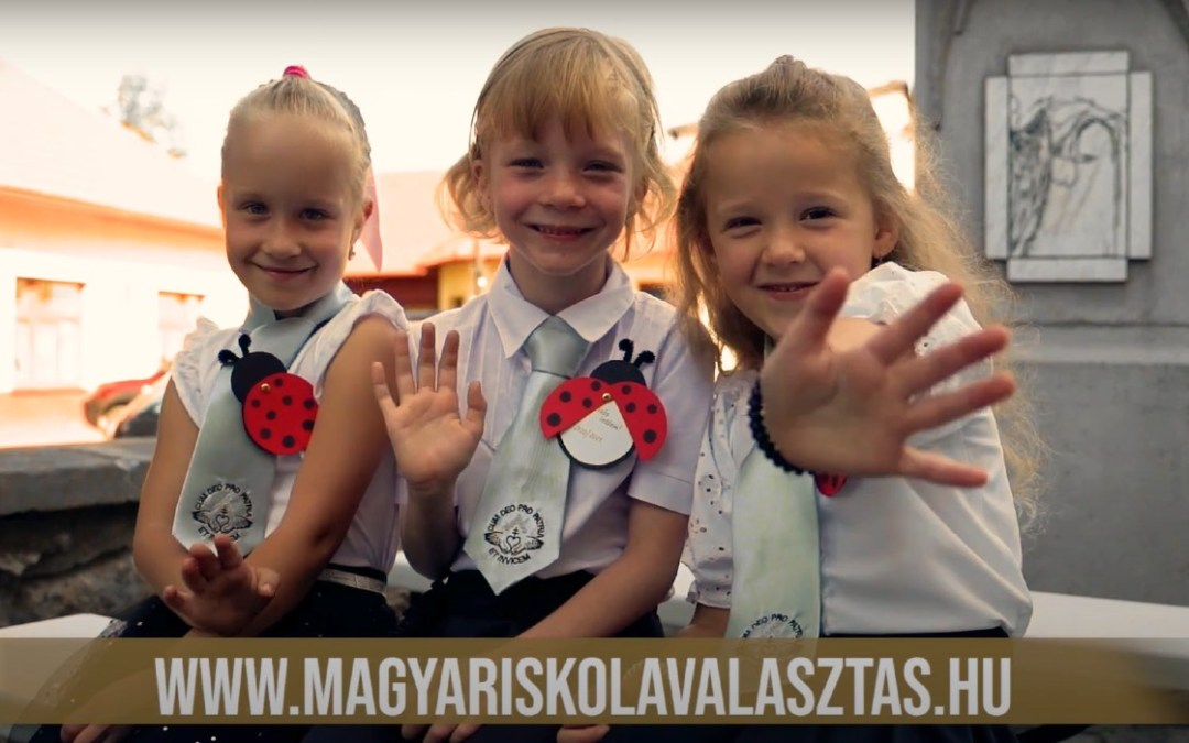 Kárpátaljai diákok iskolakezdését is támogatja a Rákóczi Szövetség