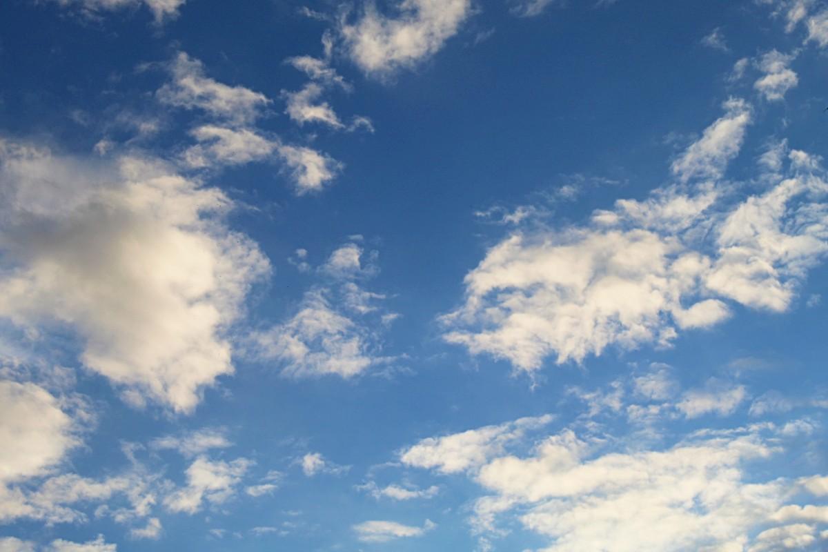kék ég felhők